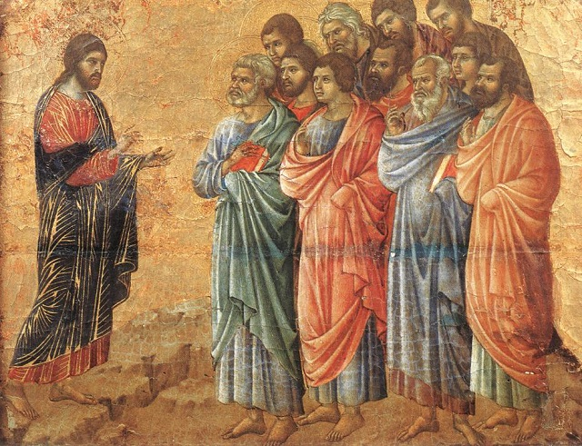 The Great Commission (Matthew 28:16-20; Luke 24:44-49)