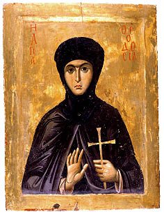 The Martyr Theodosia and the Coronavirus