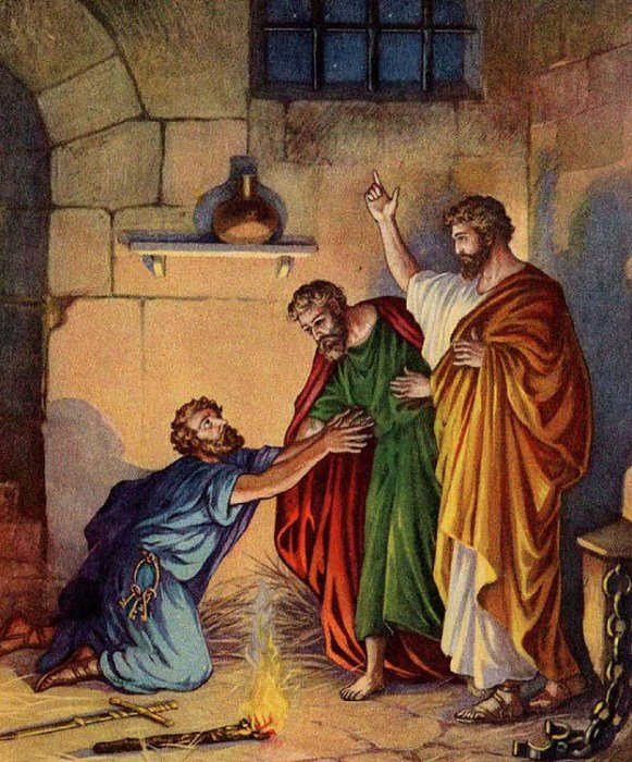 Praising God in a Philippian Jail (Acts 16:16-34)
