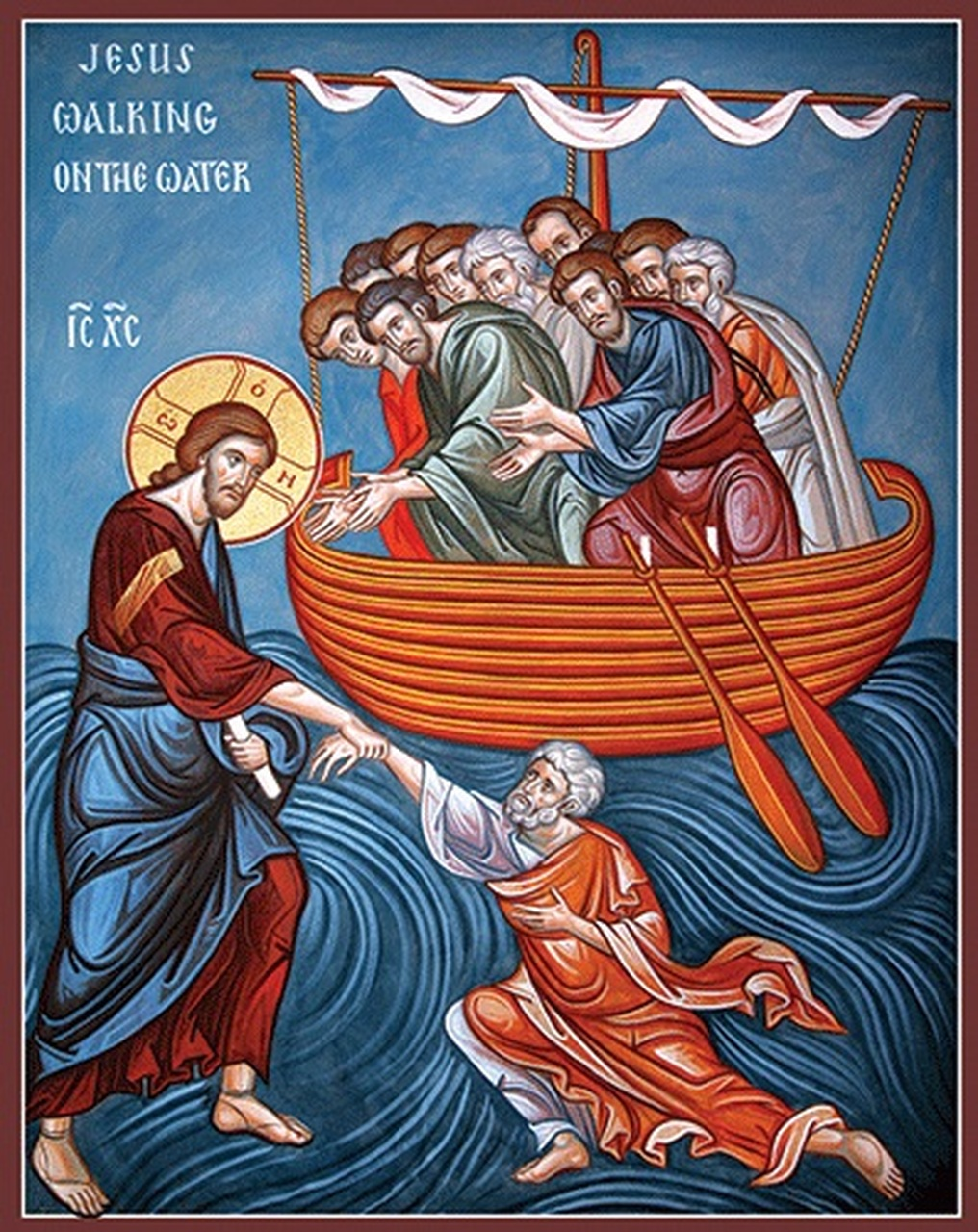 Walking on Water (Matthew 14:22-34)